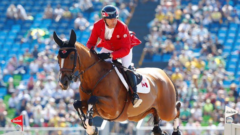Eric Lamaze aux J.O. Rio 2016